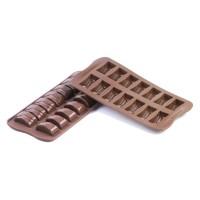 Chocolates silicone molds Choc Jack Silikomart