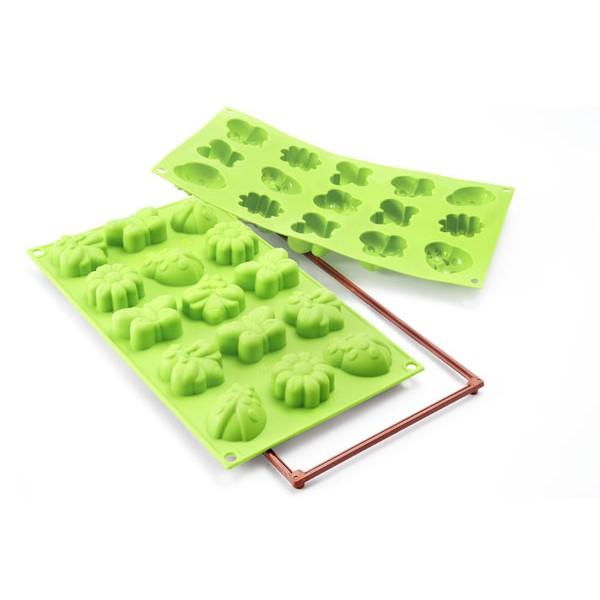 Molde horno silicona mini Spring Life Silikomart
