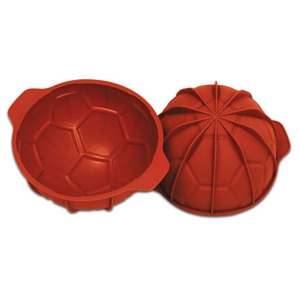 Molde horno silicona balón de fútbol Silikomart