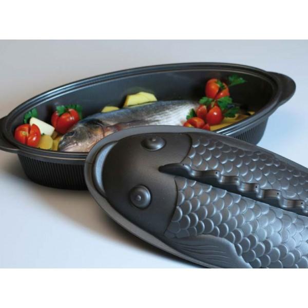 Fuente horno silicona para pescado silikomart menaje para - Fuentes para horno ...