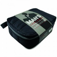 Black insulated lunch bag freshpockets max