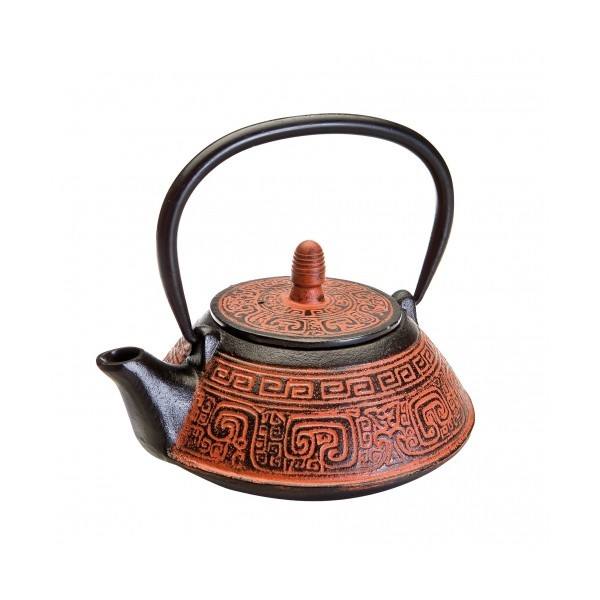 Teapot cast iron India