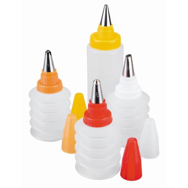 Decorazione bottiglie set (4 unità)
