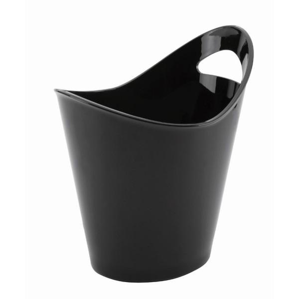 Black wine bucket (1 handle)