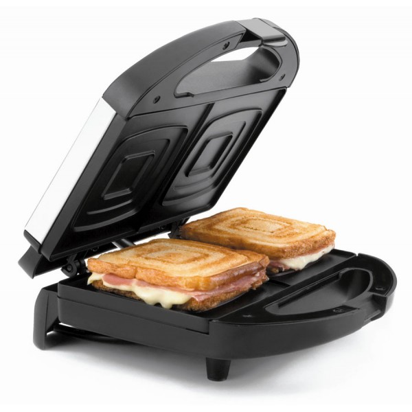Electric sandwich toaster square slices