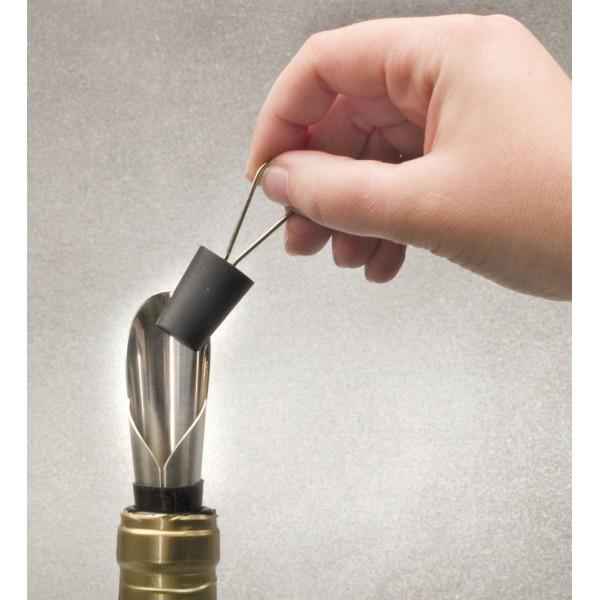 Servizio tip plug + vino