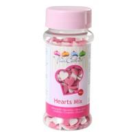 Sprinkles corazones rosas y blancos 60gr