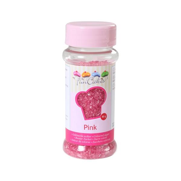 Sprinkles azúcar rosas 80gr