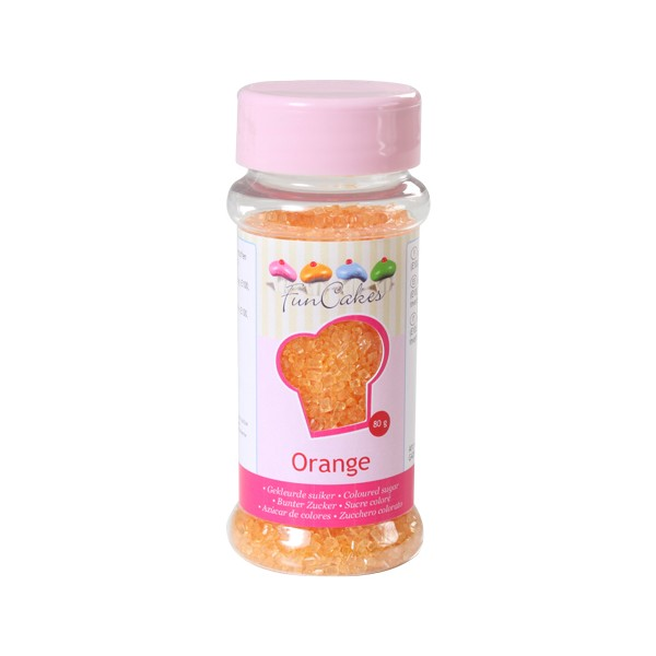 Sprinkles zucchero arancione 80gr