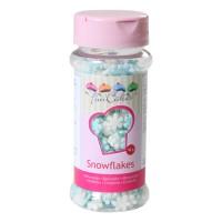 Sprinkles fiocchi di neve blu/bianco 50gr