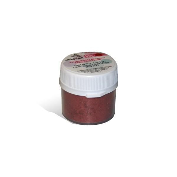 Red color dust 5 gr Silikomart