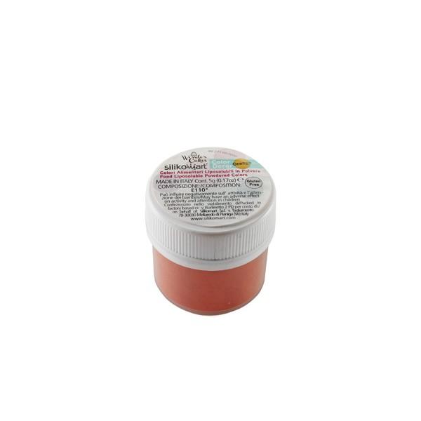 Colorante alimentari liposolubili in polvere arancione 5 gr Silikomart
