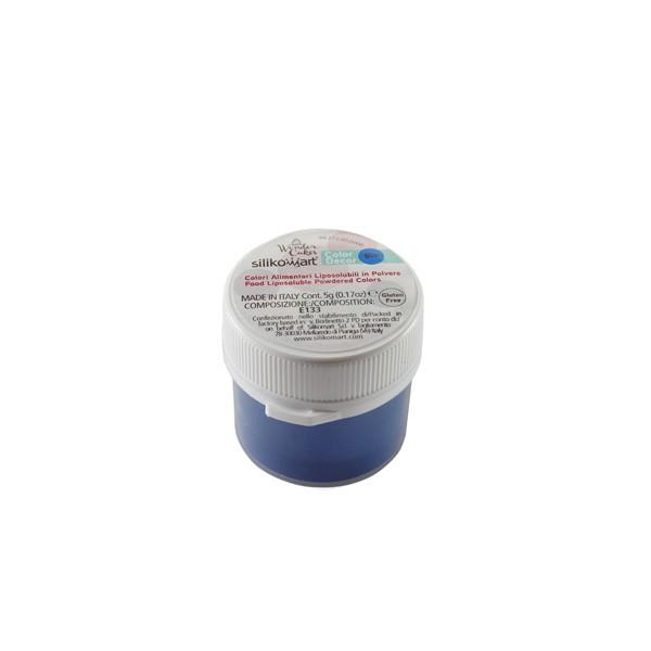 Colorante alimentari liposolubili in polvere blu 5 gr Silikomart