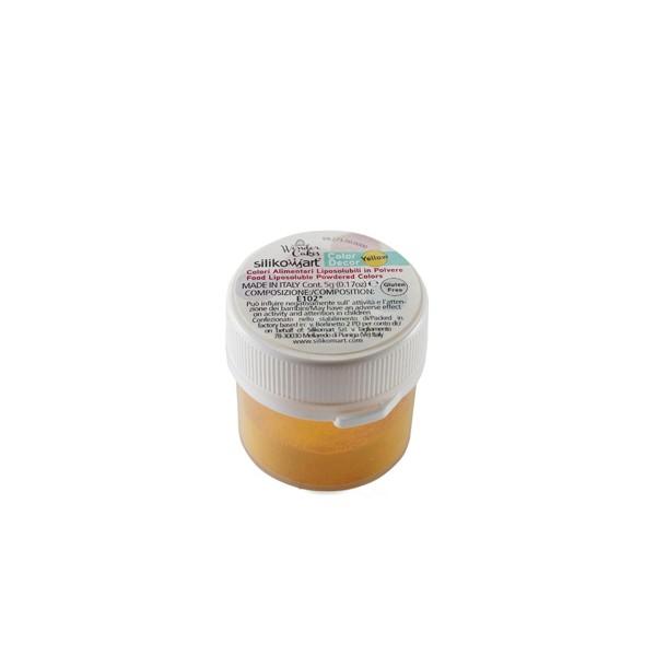 Colorante alimentari liposolubili in polvere giallo 5 gr