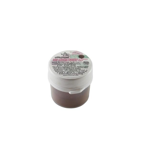 Brown color dust 5 gr Silikomart