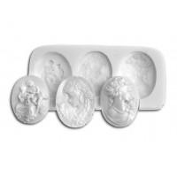 Sugarflex silicone mold cameo Silikomart