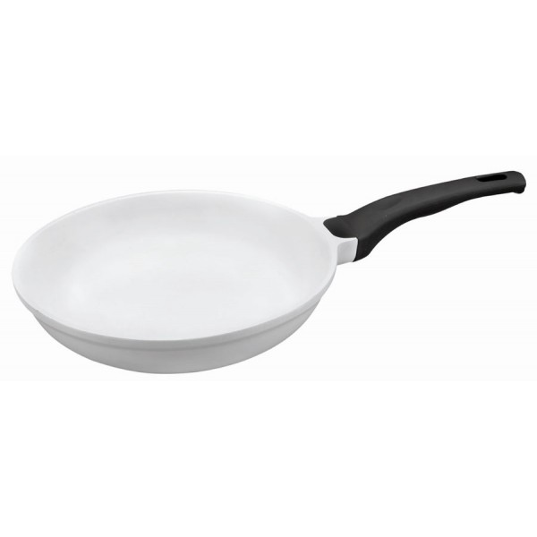 White ceramic pan (24 cm)
