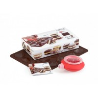 Kit stampo per dolcetti whoopie con Decomax Lékué