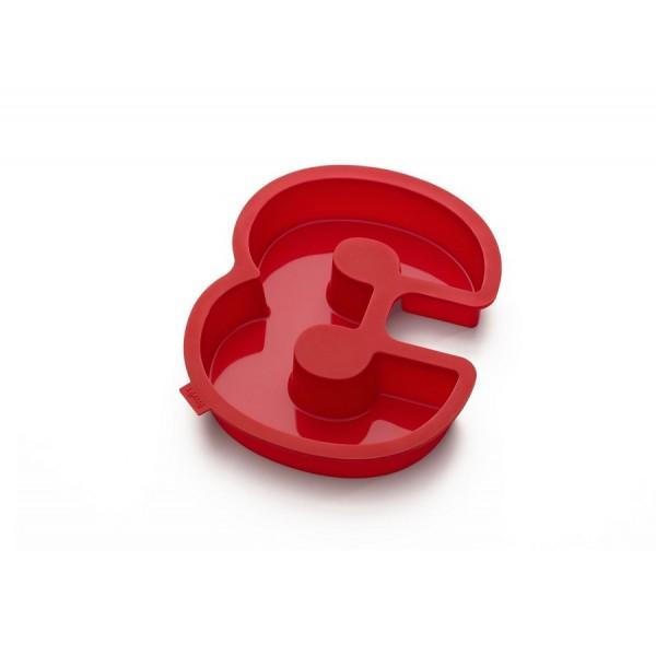 Stampo silicone per dolci a forma di numero 3 Lékué