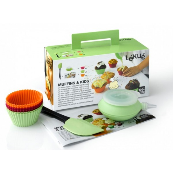 Lékué muffin and kid Kit