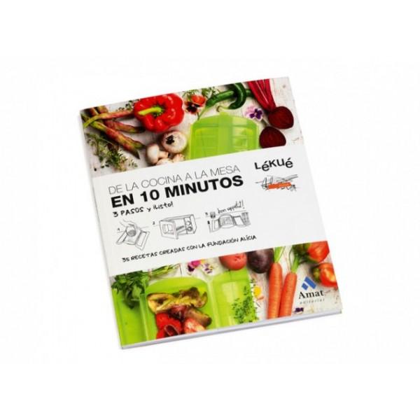Libro de la cocina a la mesa en 10 minutos Lékué