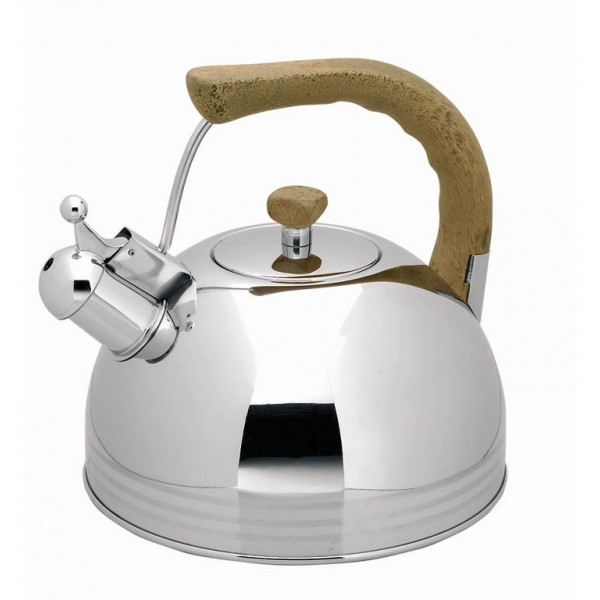 Whistling kettle, inox 18/10 (2 l)