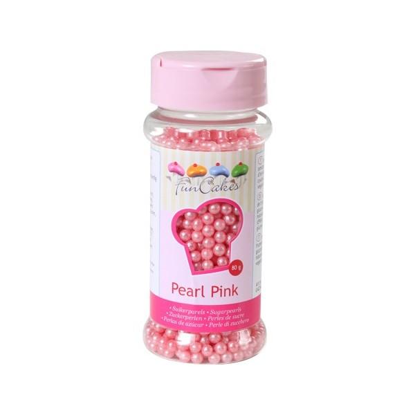 Sprinkles perlas rosa mate 80gr