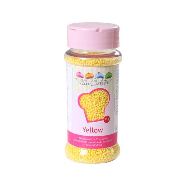 Sprinkles mini palline gialle 80gr