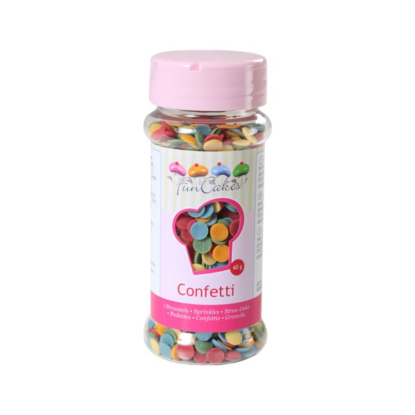 Sprinkles confetti sugar 60gr