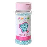 Sprinkles bleu mat perles 80gr