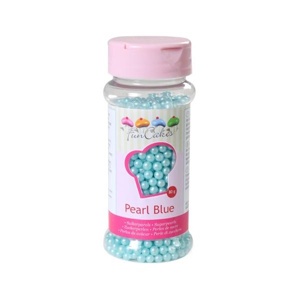 Sprinkles blue matte pearls 80gr