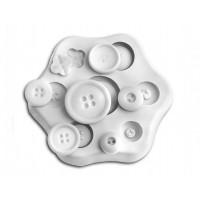 Sugarflex stampi in silicone bottone Silikomart