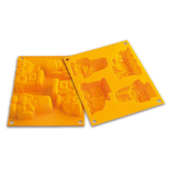 Silicone mold for oven Happy Toys Silikomart