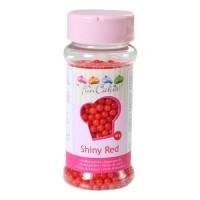 Sprinkles red shiny pearls 80gr