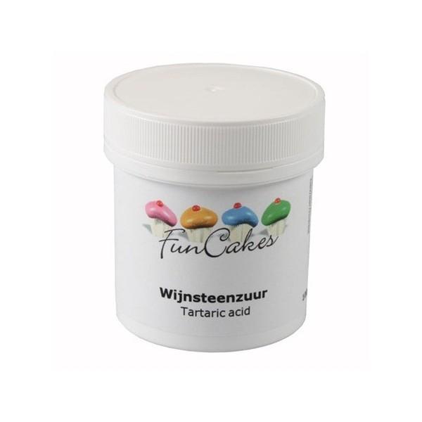 Tartaric acid Funcakes 100gr