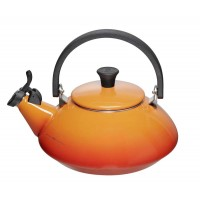 Orange volcanica zen teapot Le Creuset 1,5 l