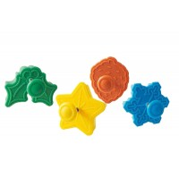 Mini cortadores Jingle Bells set 4 unids Silikomart
