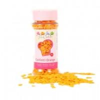 Sprinkles confetti naranja 60gr