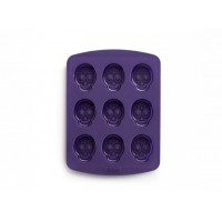 Lékué platinum silicone mold crazy skull game