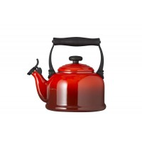 Red cherry teapot tradition kettles Le Creuset 2,1 l
