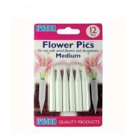 Pinchos para flores 12 unids medianos PME