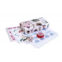 Kit per bambini per decorare con figure di cioccolato + Decopen Lékué