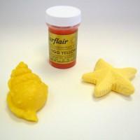 Sugarflair uovo colorazione in pasta incollare giallo 25gr