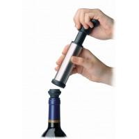 Vuoto pompa per bottiglia. inox 18/10