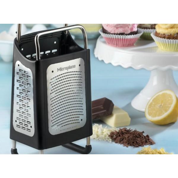 Rallador 4 caras microplane menaje utensilios for Rallador de cocina