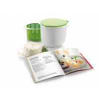 Kit Cheese Maker + libro mi queso fresco Lékué