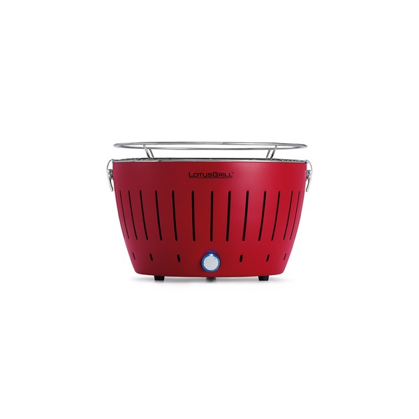 Barbecue a carbonella portatile lotusgrill rosso chlo sweet home - Barbecue portatile a carbonella ...