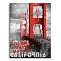 Cuadro California Golden Gate
