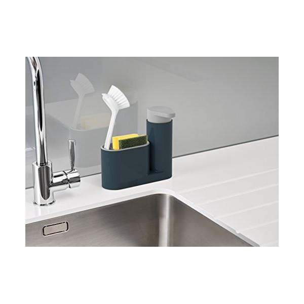 Organizador fregadero gris sink 2 piezas joseph menaje orden for Accesorios fregadero