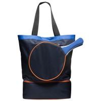 Bolsa para la playa azul marino con palas y base isotérmica 33x45cm